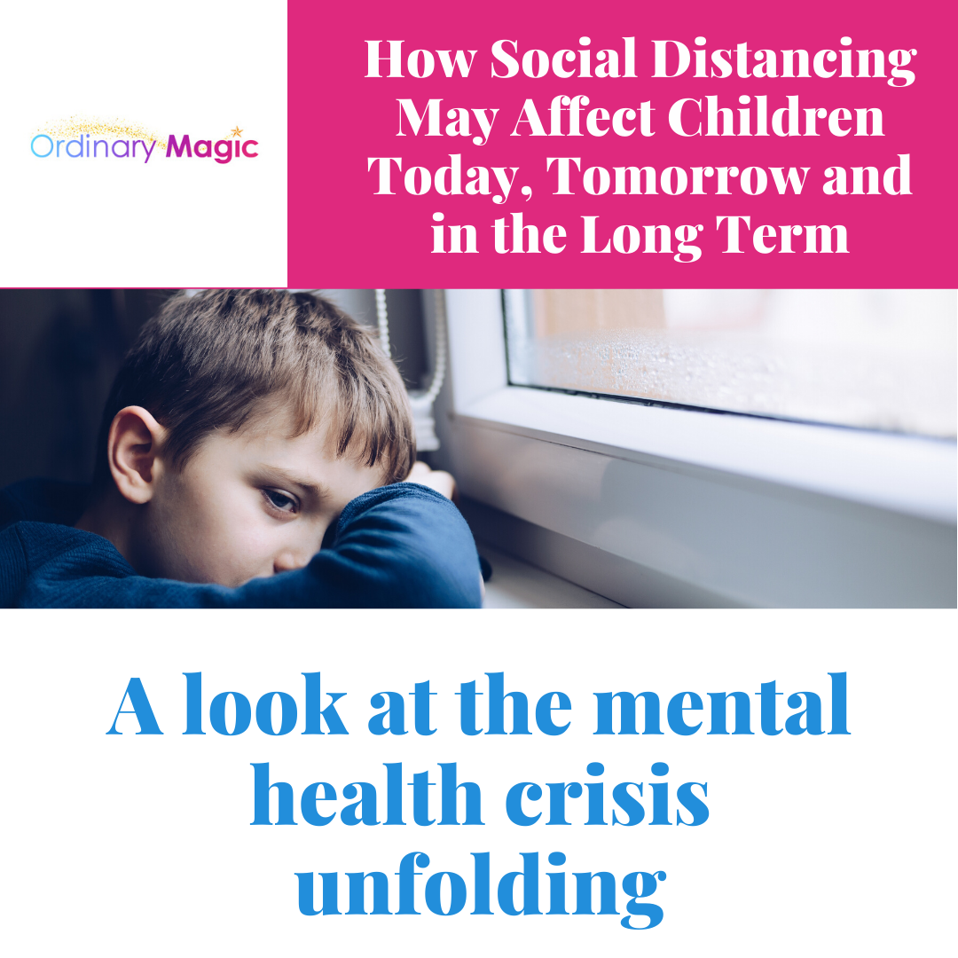 How social distancing may affect children today, tomorrow and in the long term
