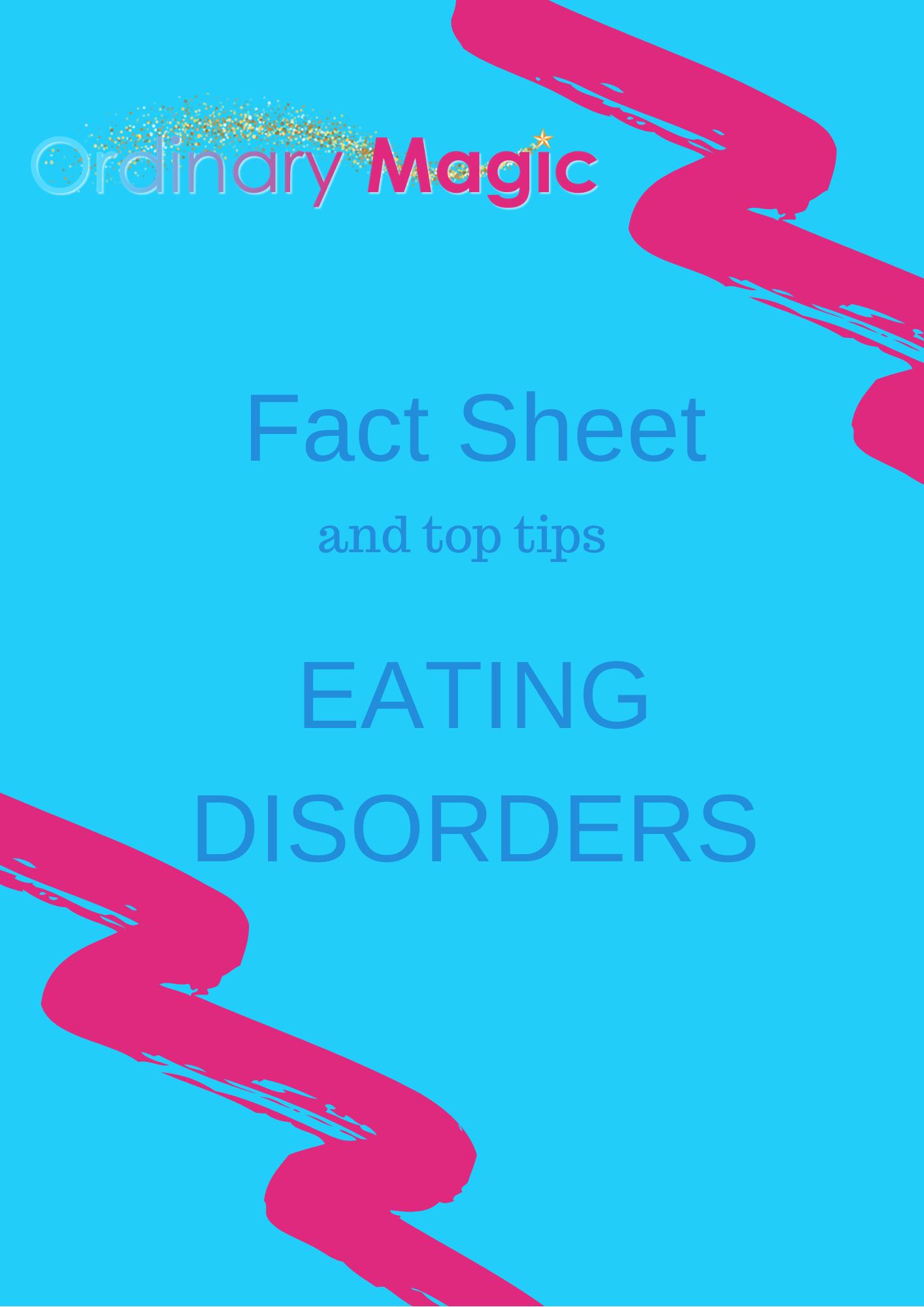 Fact Sheet Eating Disorders